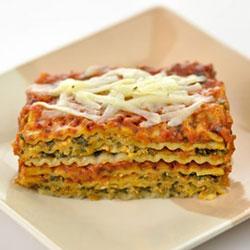 Vegetable lasagne - serves 6 to 8 thumbnail