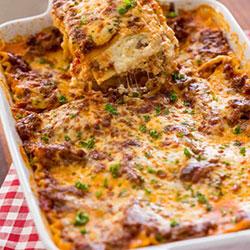 Homemade lasagna thumbnail