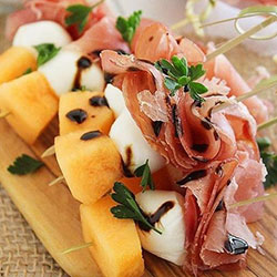San Daniele prosciutto and rockmelon skewer thumbnail