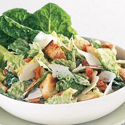 Home made caesar salad thumbnail