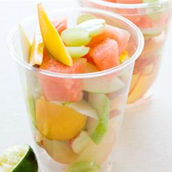 Fruit salad cup - 4oz thumbnail