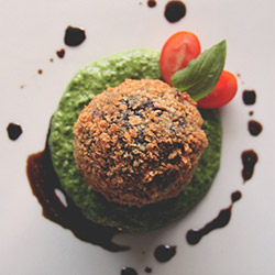 Chicken, spinach and mozzarella arancini thumbnail