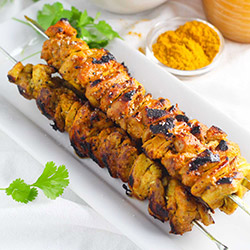 Portuguese chicken skewer thumbnail