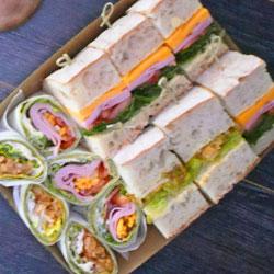 Mixed bread platter - assorted thumbnail