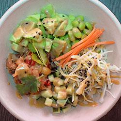 Bulgogi free range chicken poke bowl thumbnail