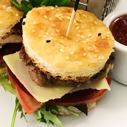 Mini baby hamburgers thumbnail