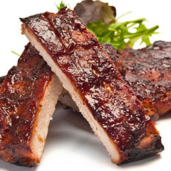 Barbecue lamb ribs thumbnail