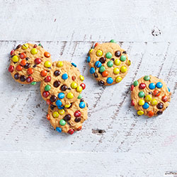 Smartie cookie - mini thumbnail