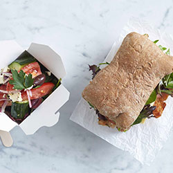 Artisan roll and salad package thumbnail