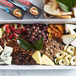 Premium cheese, fruit and nuts platter thumbnail