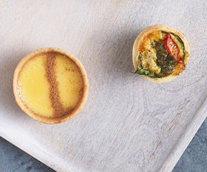 Gourmet quiche and tart package thumbnail