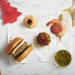 Festive hot and cold canape package thumbnail