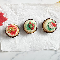 Christmas cupcake thumbnail