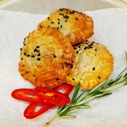 Asian BBQ pork puff pastry thumbnail