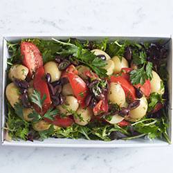 Mediterranean potato salad thumbnail