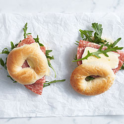 Breakfast bagel - mini thumbnail