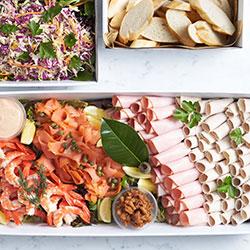 Festivities lunch platter thumbnail