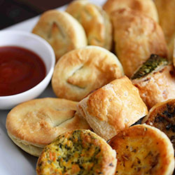 Assorted hot bites platter thumbnail