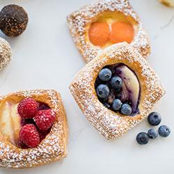 Freshly baked Danish pastry - large thumbnail