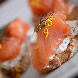 Smoked salmon crostini thumbnail