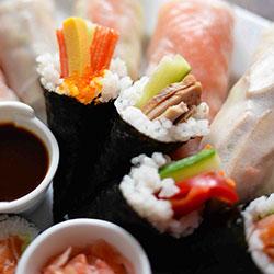 Temaki sushi - teriyaki chicken thumbnail