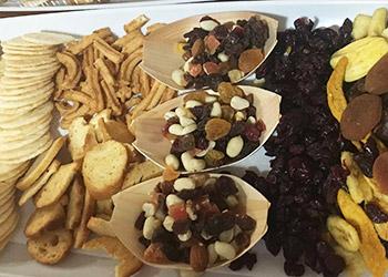 Dried fruit and cracker platter thumbnail