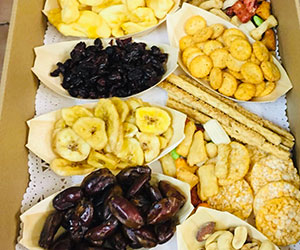 Dried fruit and cracker platter thumbnail