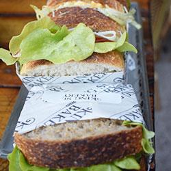Artisan bread sandwich thumbnail