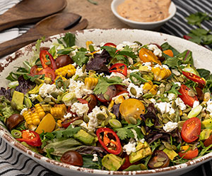 Mexican style salad thumbnail