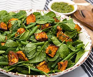Sweet potato quinoa salad thumbnail