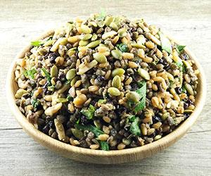 Cypriot grain and du puy lentils salad thumbnail