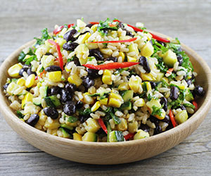 Grilled sweet corn salad thumbnail