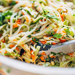 Chicken vermicelli noodle salad thumbnail