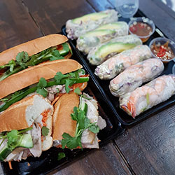 Box 4 - Mixed Banh Mi and Rice paper rolls thumbnail
