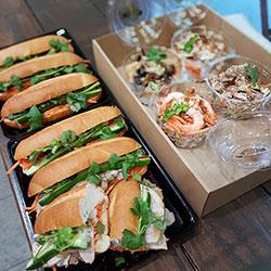 Box 5 - Mixed Banh Mi / Vietnamese salad and Vermicelli noodle salad thumbnail