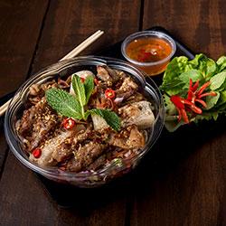 Vermicelli noodle salad - 32 oz individual bowl thumbnail