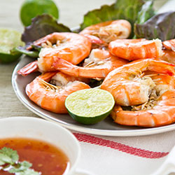 Chilled king prawn platter thumbnail