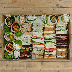 Deluxe sandwich and wrap platter thumbnail
