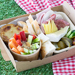 Ploughmans picnic lunch box thumbnail