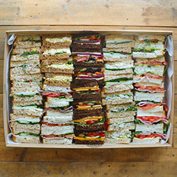 Finger sandwiches platter thumbnail