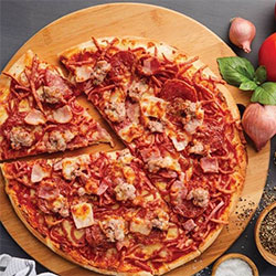 Meat lovers pizza thumbnail