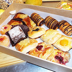 Muffins and doughnuts platter - serves 7 to 8 thumbnail