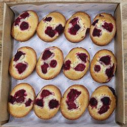 Raspberry friand - mini thumbnail