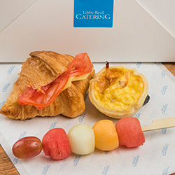 Croissant, tart and fruit skewer package thumbnail