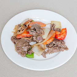 Beef stir fry with black bean sauce thumbnail