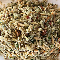 Brown rice and quinoa salad thumbnail