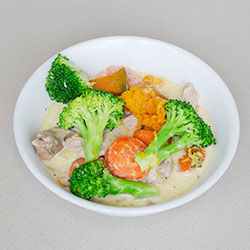 Thai chicken green curry thumbnail