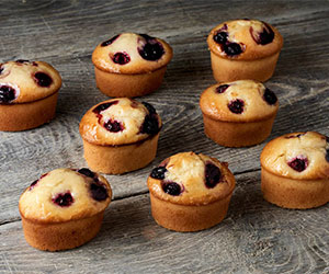 Berry friands thumbnail