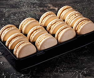 Butterscotch macarons thumbnail