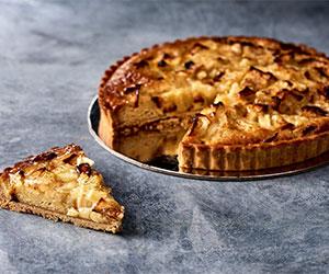Baked apple tart thumbnail